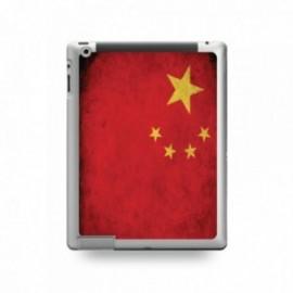 Coque IPAD MINI 1/2/3 motif Drapeau Chine Vintage