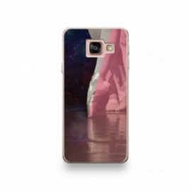 Coque MOTO X4 motif Danceuse Pointe Rose