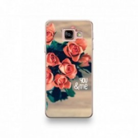 Coque Wiko View Prime motif Valentine's Day Rose You And Me