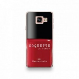 Coque Wiko View Prime motif Vernis à Ongle Rouge Mademoiselle