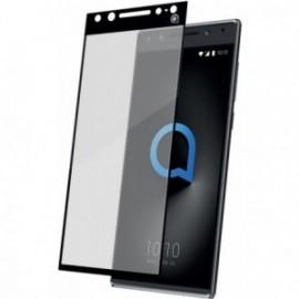 Protège-écran Alcatel 5 5086 en verre trempé au contour noir