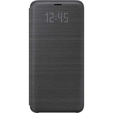 Etui Samsung Galaxy S9 G960 folio LED View Cover EF-NG960PB noir