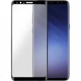 Protège-écran Samsung Galaxy S9+ G965 en verre trempé contour noir