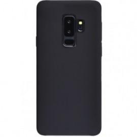 Coque Samsung Galaxy S9+ G965 rigide finition soft touch noire