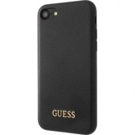 Coque rigide Guess Iridescent noire magnétique pour iPhone 5/5S/SE