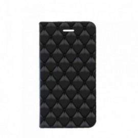 Etui Iphone 6 Plus Folio motif Matelassé
