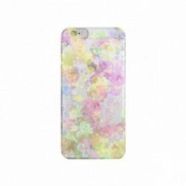 Coque Iphone 5C motif Aquarelle multicolors
