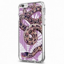 Coque Iphone 6 plus Crystal Bump Serpent violet
