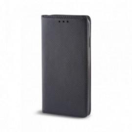 Etui Motorola X4 folio stand noir