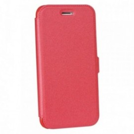 Etui Iphone X Folio pocket rouge