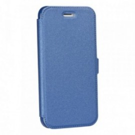Etui Iphone X Folio pocket bleu
