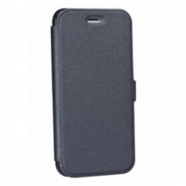 Etui Iphone X Folio pocket gris