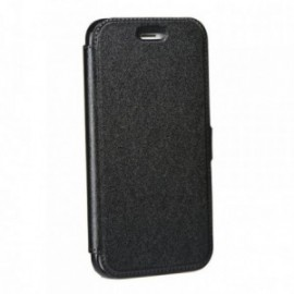 Etui LG Q6 Folio pocket noir