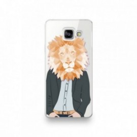 Coque Samsung Galaxy A3 2016 motif Lion humanisé