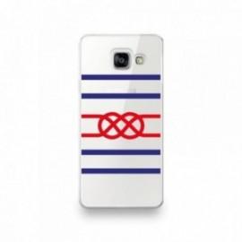 Coque Iphone 5/5S/SE motif Noeud de Carrick rouge