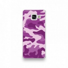 Coque Iphone 5/5S/SE motif Camouflage rose