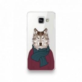 Coque Nokia 8 motif Loup humanisé