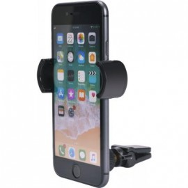 Support voiture pour smartphones avec fixation sur grille d'aération