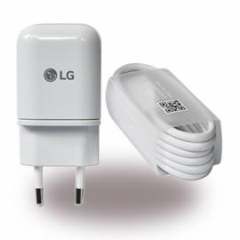 Chargeur + Data LG Type C d'origine constructeur blanc