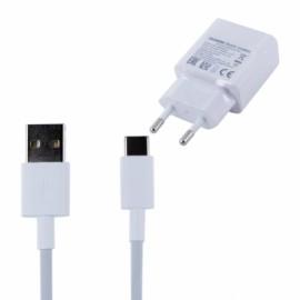 Chargeur + Data Huawei Type C d'origine constructeur blanc