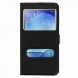Etui Huawei Mate 10 lite folio double fenêtre noir