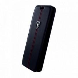 Etui Samsung Galaxy S9 Plus G965 folio Ferrari Vertical Stripe noir