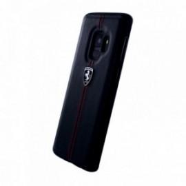 Coque Samsung Galaxy S9 G960 Ferrari Vertical Stripe noir