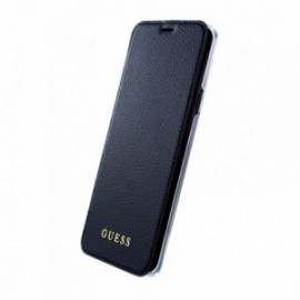 Etui Samsung Galaxy S9 G960 folio Guess Iridescent noir