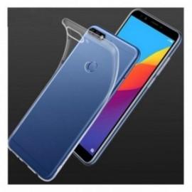 Coque Huawei Y7 2018 / Honor 7C silicone transparente