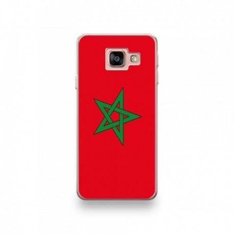 Coque Alcatel Pixi 4 6'' motif Drapeau Maroc