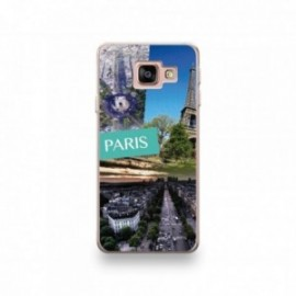 Coque Alcatel Pixi 4 6'' motif Vue de Paris