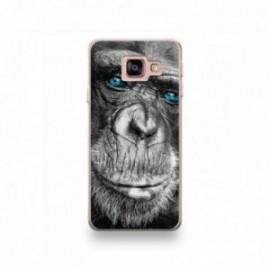 Coque LG G7 motif Gorille aux Yeux Bleus