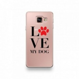Coque LG G7 motif I Love My Dog