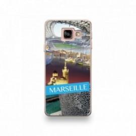 Coque LG G7 motif Vue de Marseille