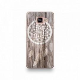 Coque LG K10 2018 motif Attrape Rêves Bois