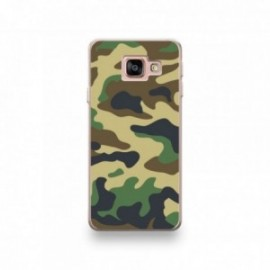 Coque LG K10 2018 motif Camouflage Vert Kaki