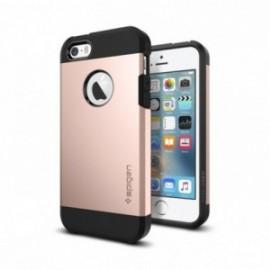 Spigen Tough Armor for iPhone 5/5s/SE rose gold colored