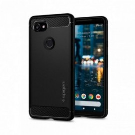 Coque Google Pixel 2 XL Spigen Rugged Armor noir
