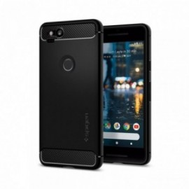 Coque Google Pixel 2 Spigen Rugged Armor noir