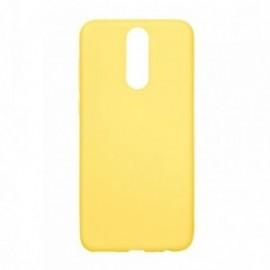 Coque Huawei Mate 10 lite minigel soft jaune