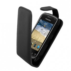 Etui Blackberry curve 9380 simili noir