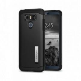 Coque LG G6 Spigen Slim Armor noir