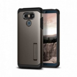 Coque LG G6 Spigen Tough Armor gris