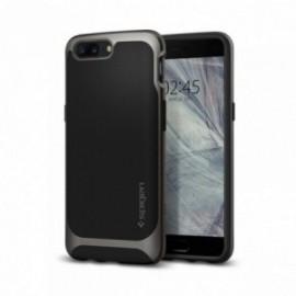 Coque OnePlus 5 Spigen Case Neo Hybrid gris
