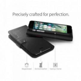 Spigen Wallet S for iPhone 7/8 Plus noir