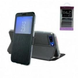 Etui Motorola G6 Folio vision noir