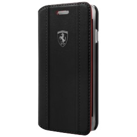 Etui iphone 8 Ferrari Folio Black Logo