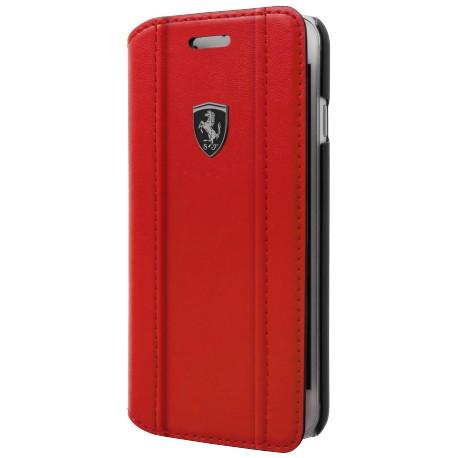 Etui iphone 8 Ferrari Folio Black Logo