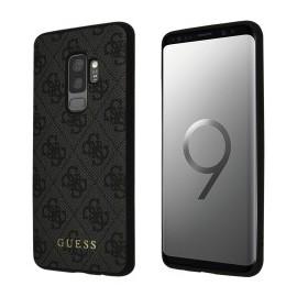 Coque Samsung Galaxy S9 Plus G965 Guess 4G Gris