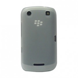 Coque Blackberry curve 9380 blanc transparent